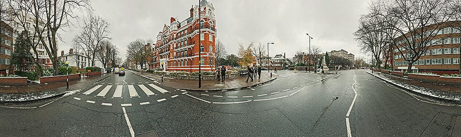 Abbey Road - the most famous zebra crossing in the world